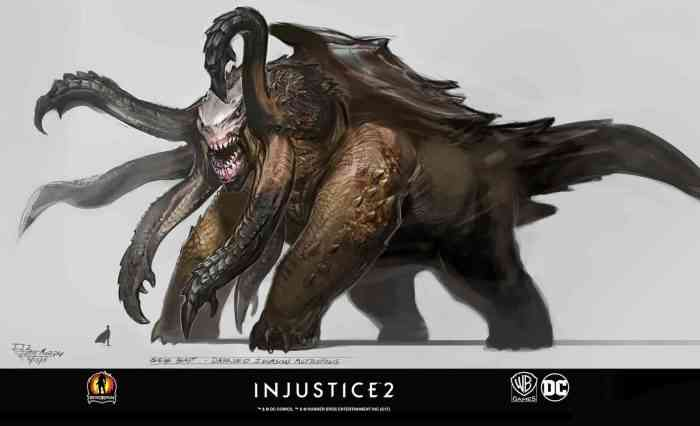 Injustice 2 Concept Art