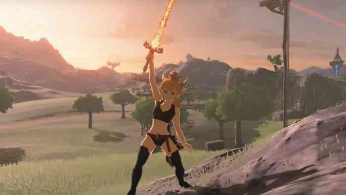 Bowsette The Legend of Zelda: Breath of the Wild