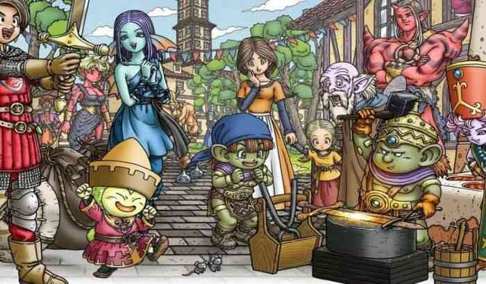 Dragon Quest X MMO West