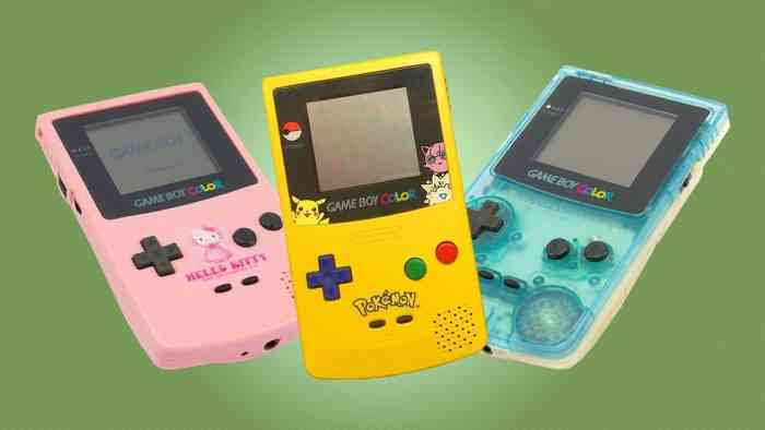 Game Boy Color 20th Birthday