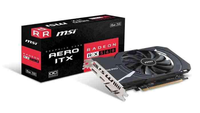 XFX Radeon RX 560 Graphics Card