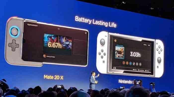 Huawei Mate 20 X Nintendo Switch