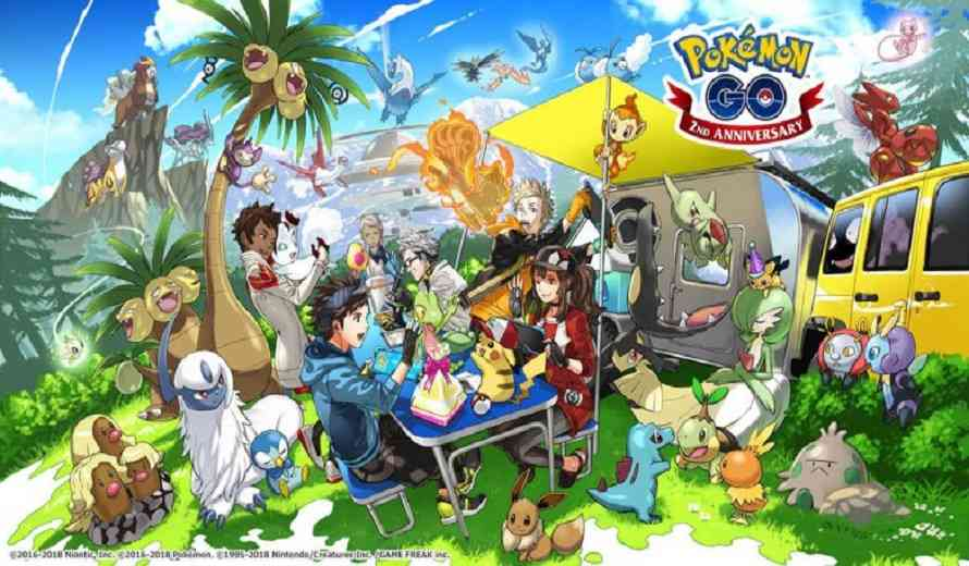 Gen IV Finally Joins Pokemon GO