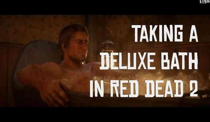 Red Dead 2 Bath