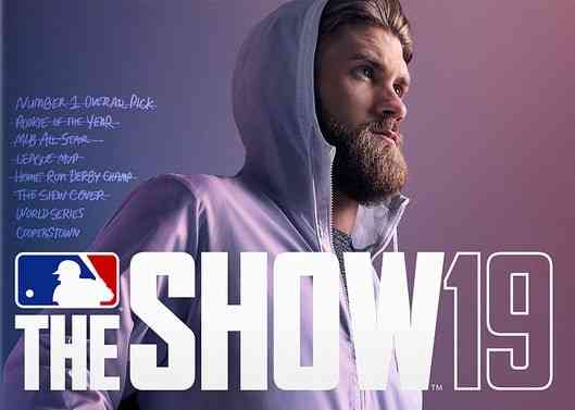 MLB The Show 19 cover athlete bryce harper