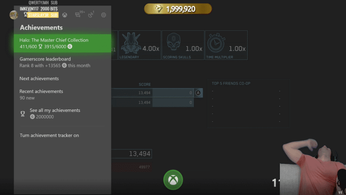 Xbox Gamerscore Stallion83 feature