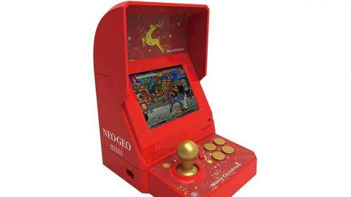 Neo Geo Mini Xmas Edition