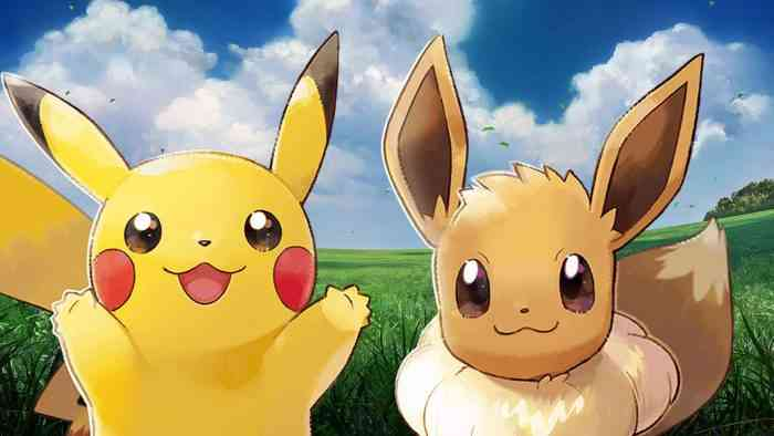 Pokemon: Let's Go, Pikachu Eevee
