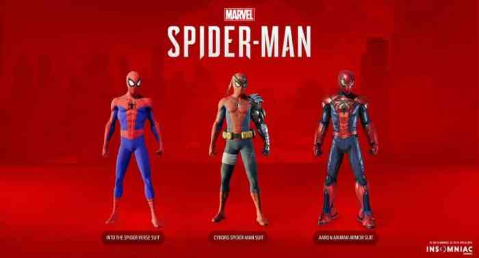 Spider-Man Silver Lining Suits