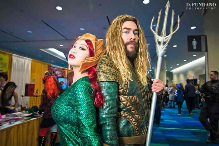 Aquaman and Mera Canadian Cosplayers