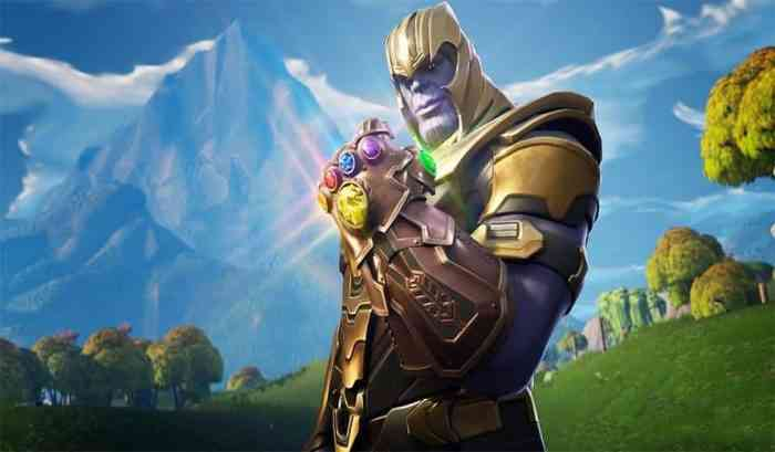 Thanos in Fortnite