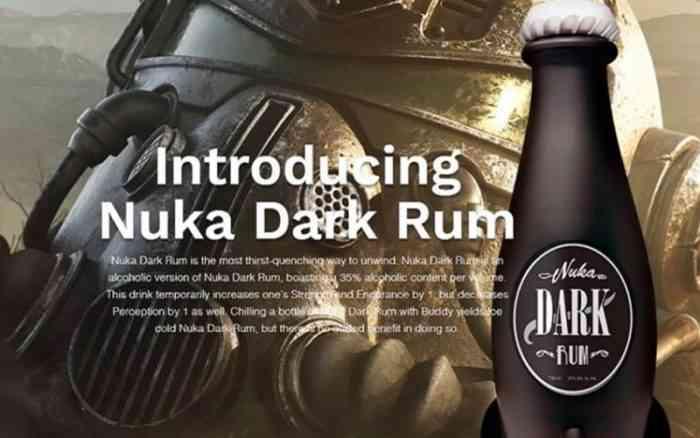 Nuka Dark Bottles