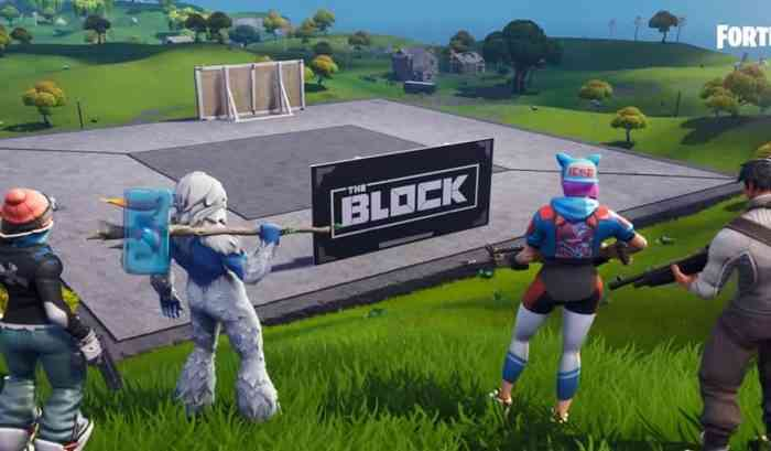 Fortnite The Block