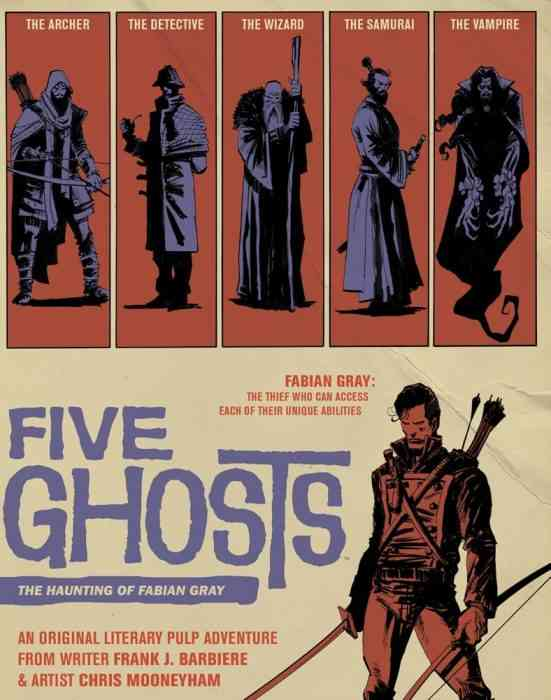 comics five ghosts