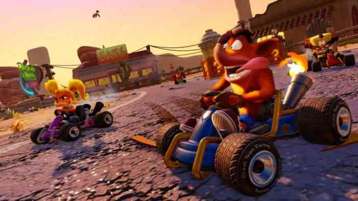 'Crash Team Racing Nitro-Fueled' HD Remaster Announced