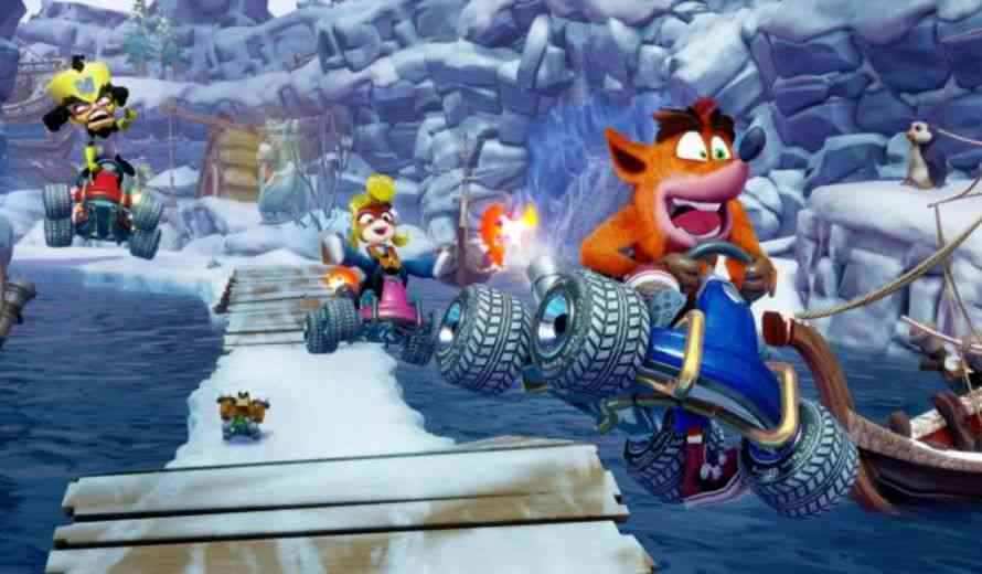 Crash Team Racing Nitro-Fueled Looks Fantastic in Raw Gameplay Videos