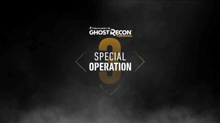 ghost recon wildlands special operation 3