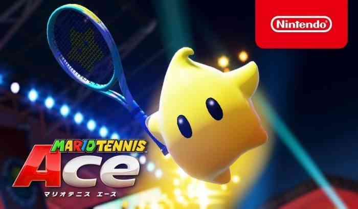 Mario Tennis Aces Trailer Shows Off New Character Luma in Action