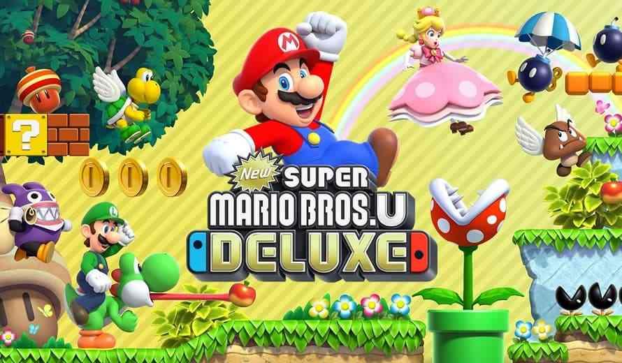 New Super Mario Bros. U Deluxe - Announcement Trailer ...