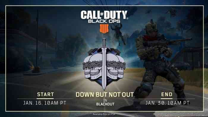 Play Call of Duty: Blackout free for a whole week, starting today