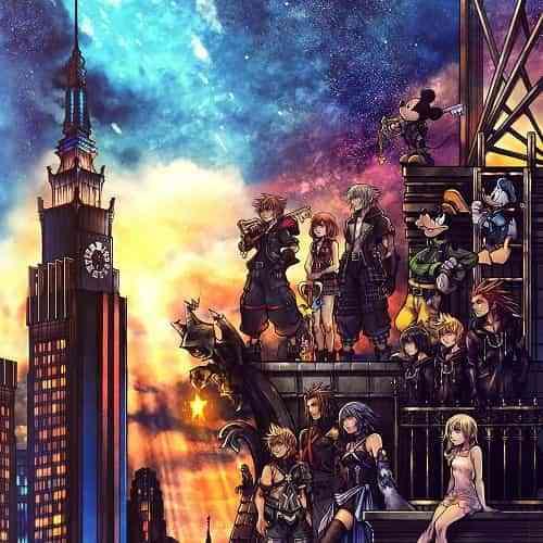 Kingdom Hearts III x Sony Collaboration