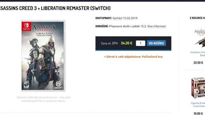 Assassin's Creed III retailers