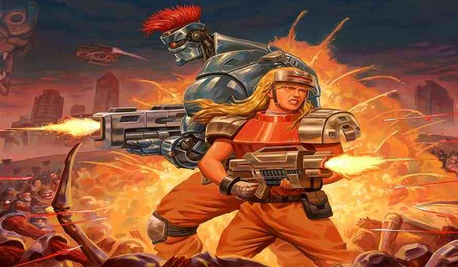 Blazing Chrome Will Also Blaze a Trail on Xbox One, Launching Spring