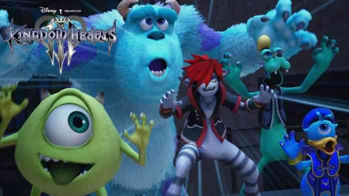kingdom hearts iii monsters inc