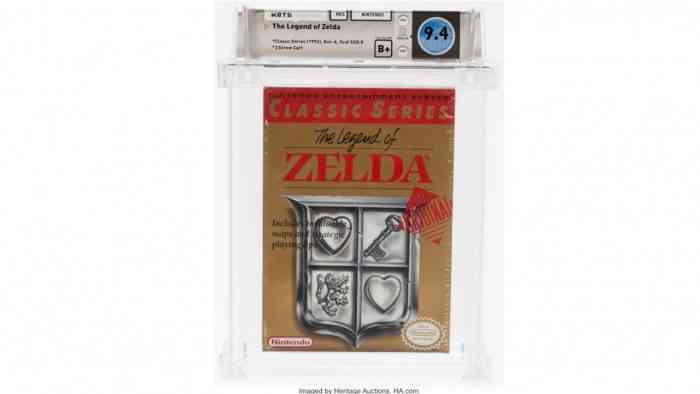 Legend of Zelda Auction
