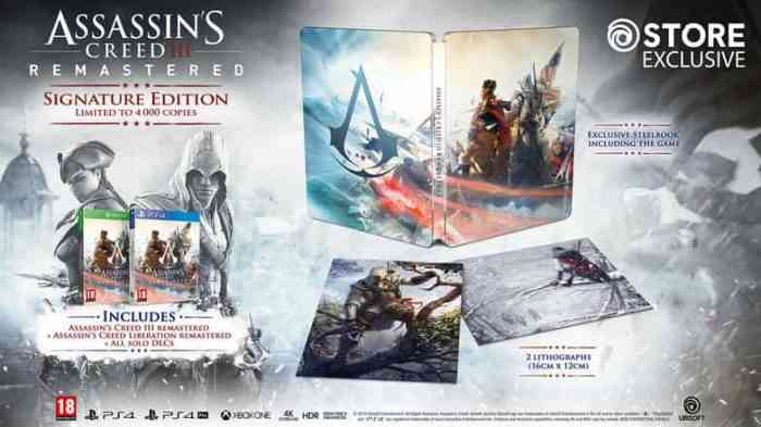 Assassin's Creed 3 Signature