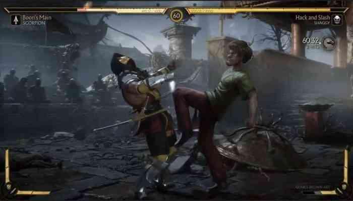Mortal Kombat Shaggy