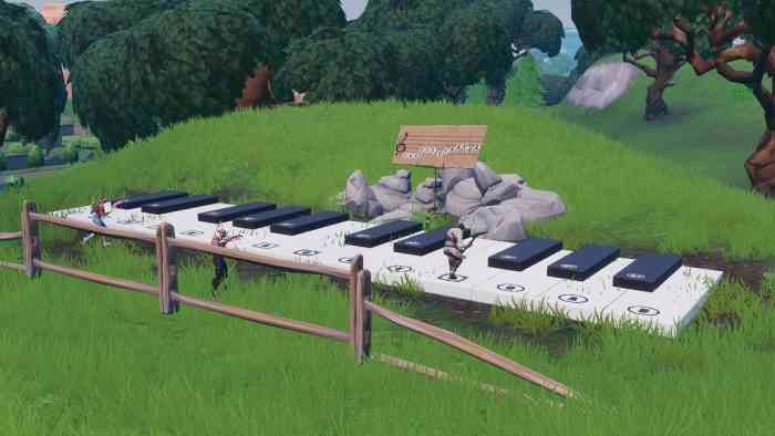 Fortnite Piano