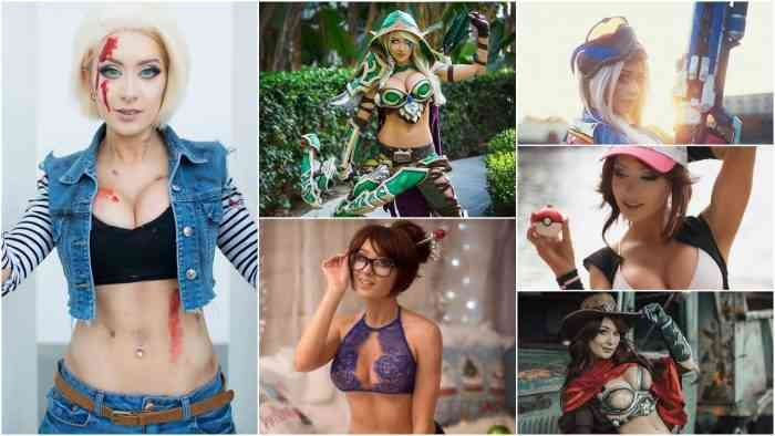 Kate Sarkissian's Sexy Gaming and Anime Cosplay is Amazing