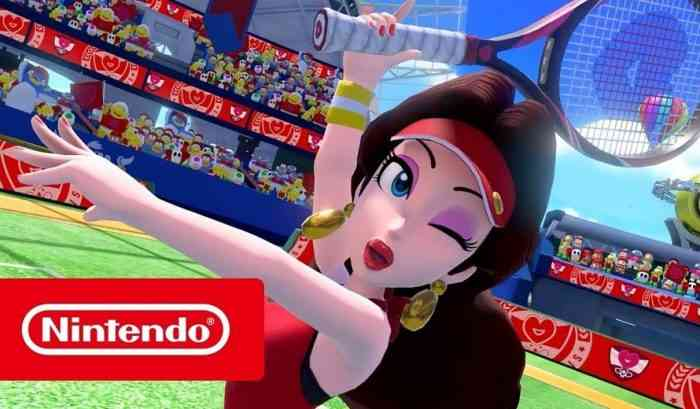 Mario Tennis Aces DLC