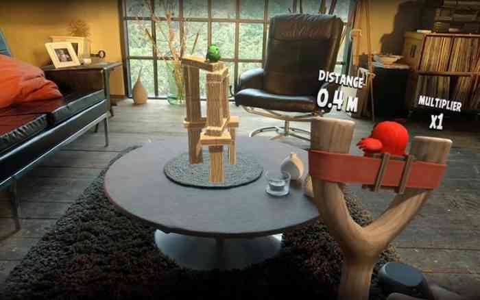 angry birds vr mid