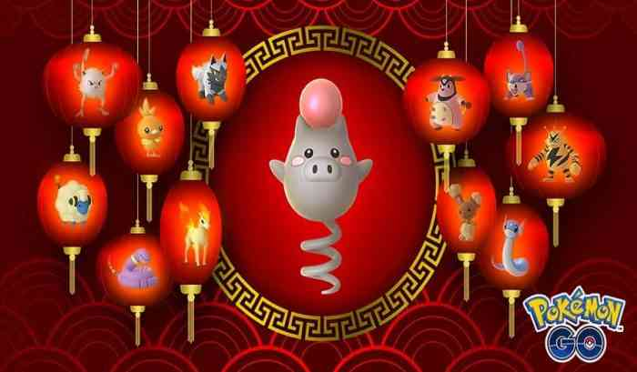 Pokemon GO Lunar New Year