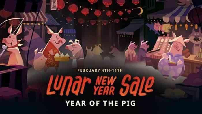 steam lunar new year sale 2019