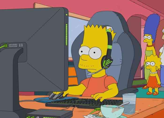 Bart Simpson esports