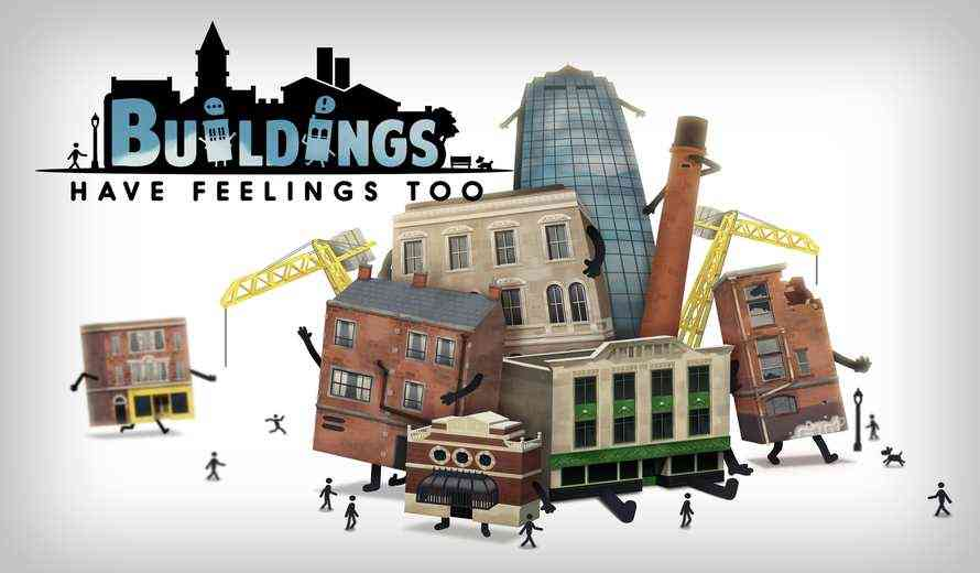 'Buildings Have Feelings Too!' Is an Odd City-Sim Game About Sentient Buildings
