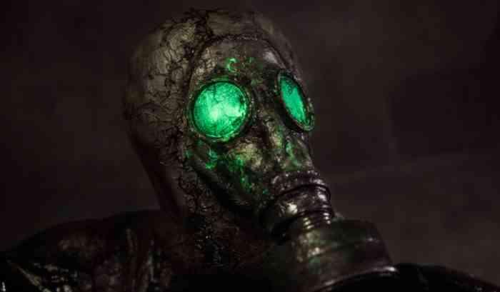 Chernobylite Mask