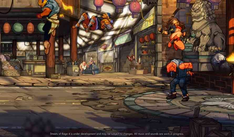 Streets of Rage 4 First Gameplay Tease Packs an Awesome Punch