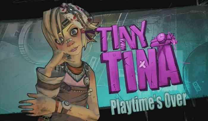 Tiny Tina in Borderlands 3
