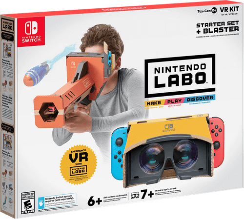 Nintendo launches DIY Virtual Reality range