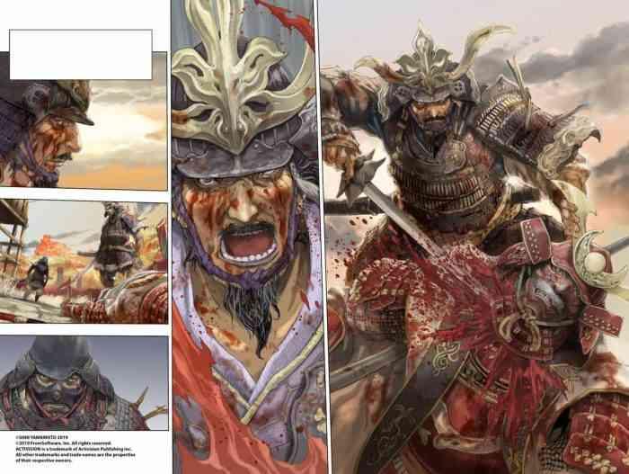 Sekiro Shadows Die Twice Comic