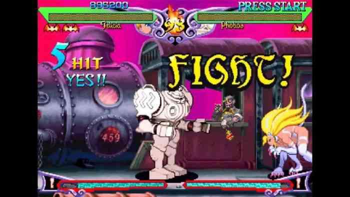 Capcom New Arcade Thing