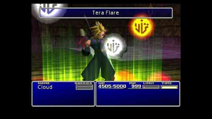 final fantasy vii top