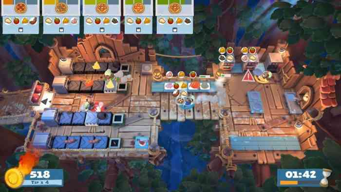 Overcooked! 2's Campfire Cook-Off DLC launches today