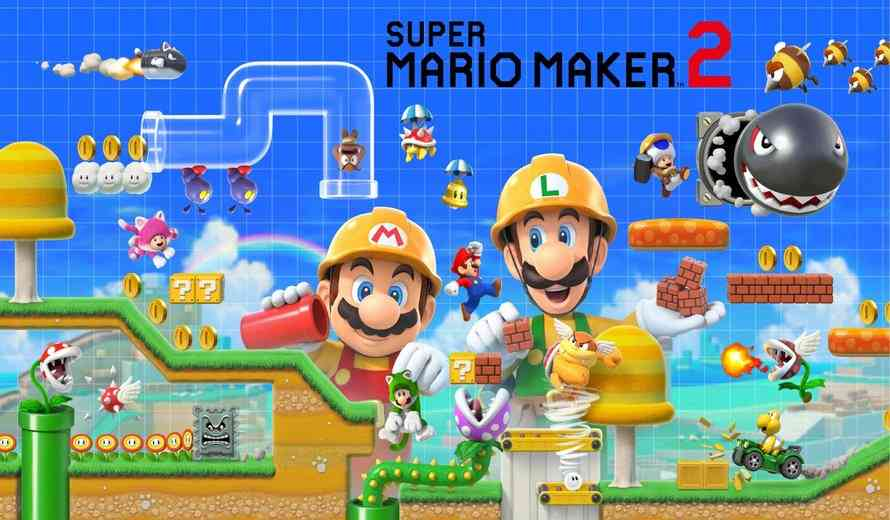 A Look At Super Mario Maker 2's Story Mode, Course Maker & Course World in Gameplay Videos