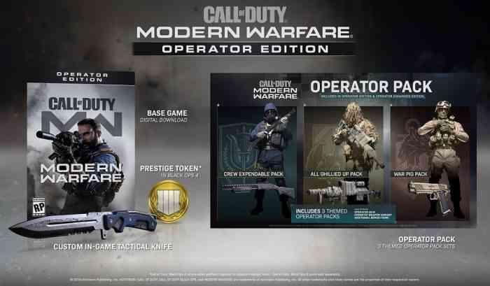 Call of Duty: Modern Warfare Pre-Order