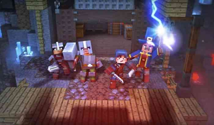 Minecraft Dungeons Online Multiplayer